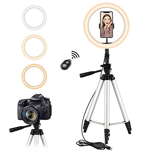 Neufday Lightweight Phone Camera Mount Tripod Stand