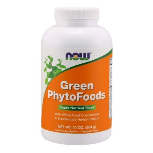 Now Foods Green Phytofoods Powder, 10 oz ( Multi-Pack)