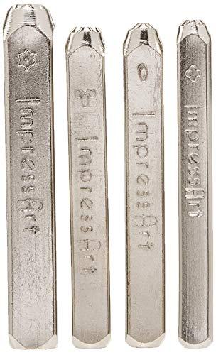 ImpressArt- Mandala Metal Stamp Pack, Series 1