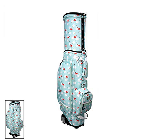 For Sale! Womens Golf Club Bags Organizer with Telescopic Dust Coverwith - 5 Divisions Portable Roll...
