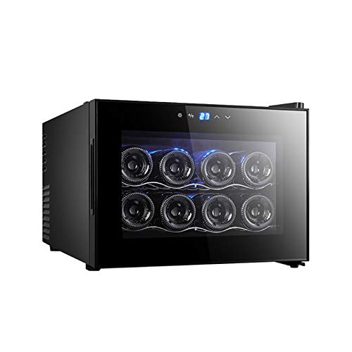 Smart Wine Cooler, Smart Wine Refrigerator with Quiet Compressor Cooling, Constant Temperature System,Front Vent,Built-in or Freestanding Wine Fridge Smart Wine For Kitchen and living room