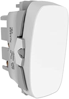 Módulo Interruptor Paralelo, Alumbra, Gracia 85309, Branco