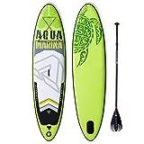 DJXLMN Tabla de Paddle Sup Hinchable, Tabla de Surf, Tabla de Paddle Antideslizante portátil, Adecuada para niños Adultos Principiantes de Todos los Niveles