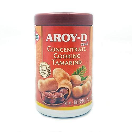 Aroy-d - Concentrato di tamarindo per cucinare - Ideale per preparare il Pad Thai - 454 g