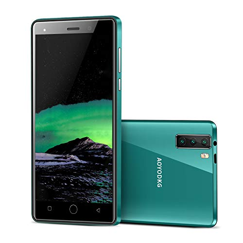 Moviles Libres 4G 5.0'' Tres Cámaras Traseras 8MP+Cámara Frontal 5MP 1GB +16GB Telefono movil 2800mAh Móviles y Smartphone Libres Android 9.0