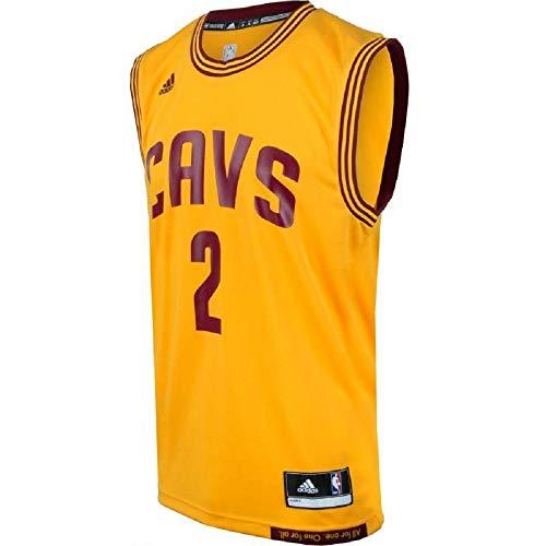 adidas INT Replica Jrsy Camiseta de Manga Corta, Hombre, Multicolor (NBA Cleveland Cavaliers 7 3Cc), XS