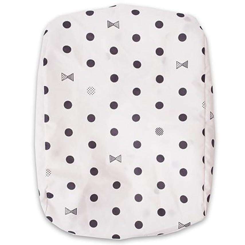 沿って添付公然とランドセルカバー レインカバー décor PolkaDot(white) N8000500