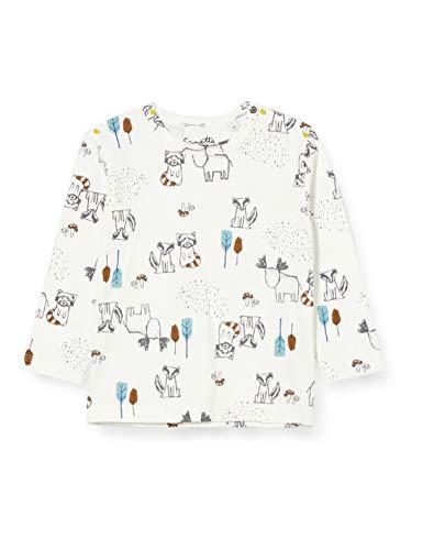 Sanetta Baby-Jungen Ivory Kleinkind T-Shirt-Satz, beige, 068