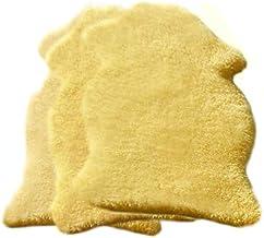 Baby Lammfell geschoren medizinisch ökologisch gegerbt versch. Größen ca. 80-90 cm