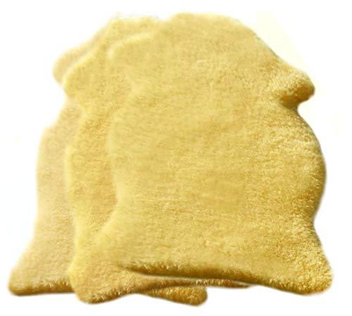 Baby Lammfell geschoren medizinisch ökologisch gegerbt versch. Größen (ca. 80-90 cm)