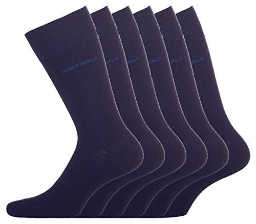 BOSS Hugo Herren Socken Twopack RS Uni 10112280 01, 6er Pack