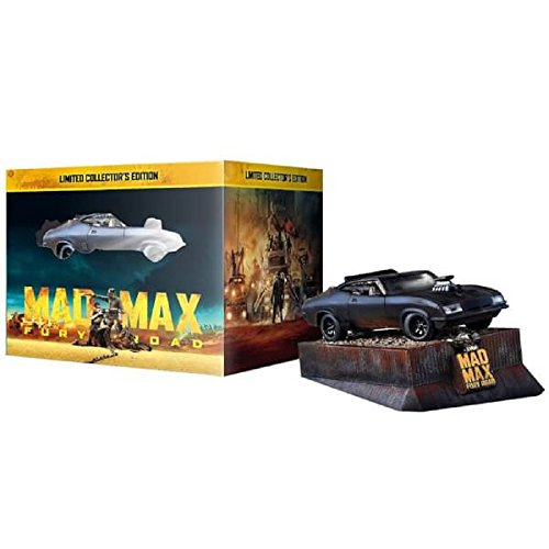 Mad Max Fury Road - Collector's Edition with Car Model (Limited Edition) [Blu-ray 3D] [2015]