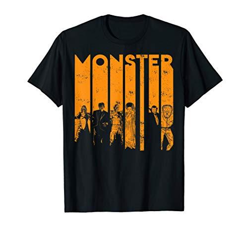 Universal Monsters Letter Group Shot T-Shirt