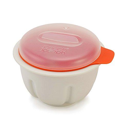 Joseph Joseph M-Cuisine Microwave Egg Poacher - Stone/Orange, Orange
