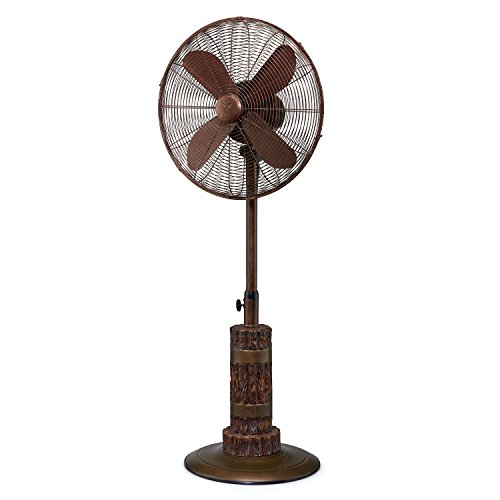 Designer Aire Oscillating Indoor/Outdoor Standing Floor Fan...