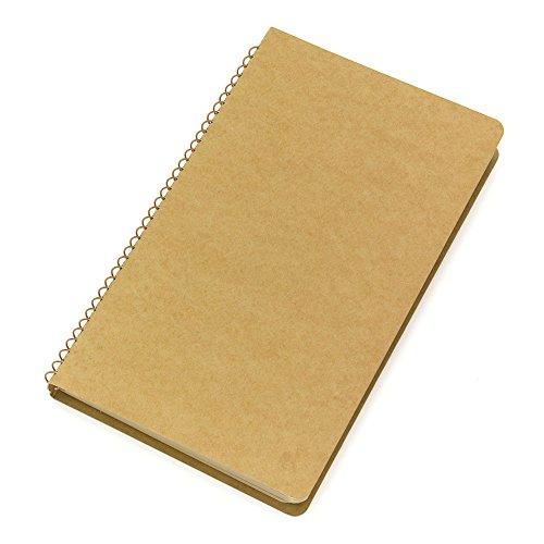 1 X Midori-spiral ring notebook camel blank notebook Photo #2
