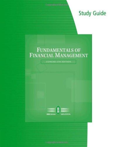 Download Fundamentals of Financial Management 0324664907
