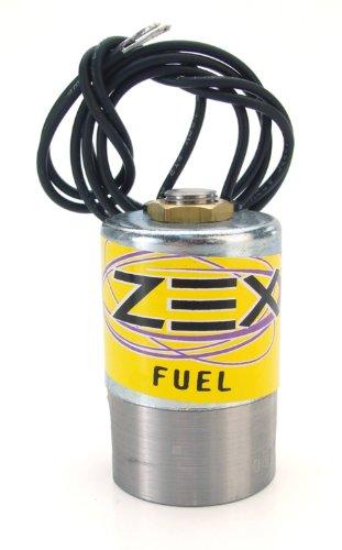 Zex COMP Cams NS6641 Solenoid (Ns6641 Hi-Flow Fuel), gold dichromate