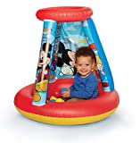 Mickey Mouse Kids Ball Pit, 1 Inflatable & 15 Soft-Flex...