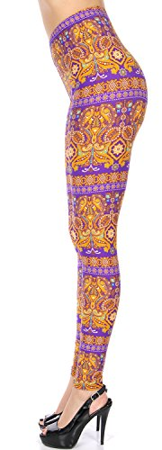Women's Leggings Ultra Soft Brushed. High Waisted. Regular & Plus. Many Colors Prints. Premium Quality