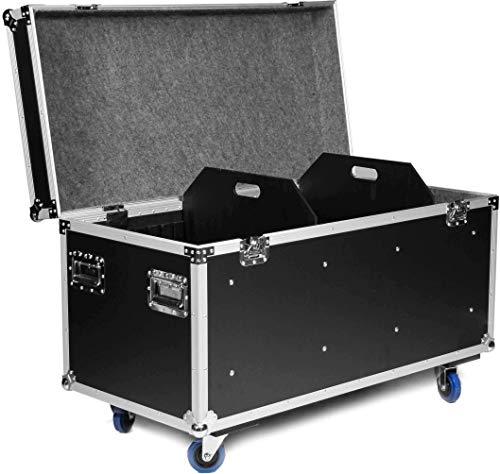 TEGO PRO 27224 Universal Case II, 120 cm Transportcase Tourcase mit Rollen und 2 Trennwänden, 121,5 x 60 x 77,5 cm