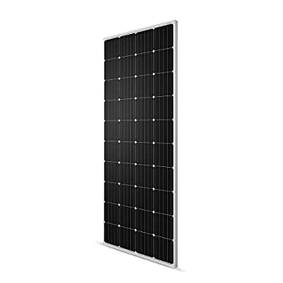 Renogy 200 Watt 12 Volt Monocrystalline Solar Panel,Compact Design 63.8×25.9×1.4 in, High Efficiency Module PV Power for Camper, Vehicle Caravan and Any Other Off Grid Applications, 200W