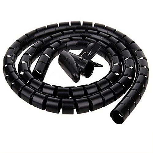 Organizador de envoltura de alambre de cable Tubo espiral Protector de cable...