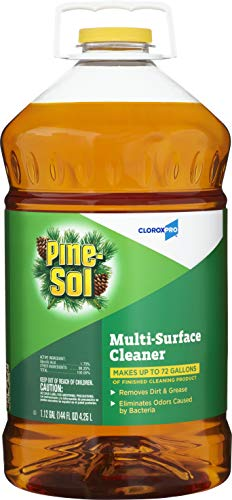 Clorox 35418 Pine-Sol Multi-Surface CloroxPro Cleaner, Original Pine, 144 Ounce Bottle (Packaging May Vary)