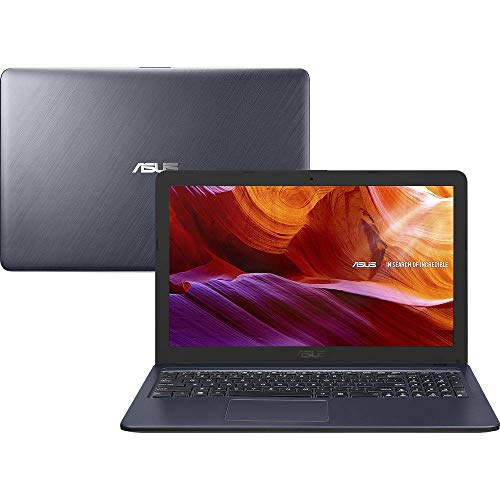 Notebook Asus X543MA-GO594T Intel Celeron , 4GB RAM , 500GB , Tela de 15,6' Windows 10 - Cinza Escuro