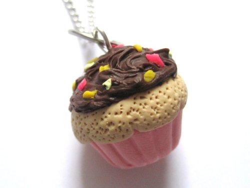 schmuck-stadt Muffin Kette Schokolade Cupcake Törtchen