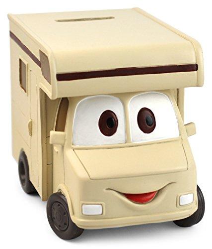 Solinga Spardose Wohnmobil Wohnwagen Geschenk für Hobby Urlaub und Reise oder als Geldgeschenk für Camper Geschenkidee als Urlaubskasse