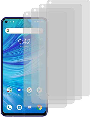 4ProTec I 4X Schutzfolie MATT passexakt für Umidigi F2 Bildschirmschutzfolie Displayschutzfolie Schutzhülle Bildschirmschutz Bildschirmfolie Folie
