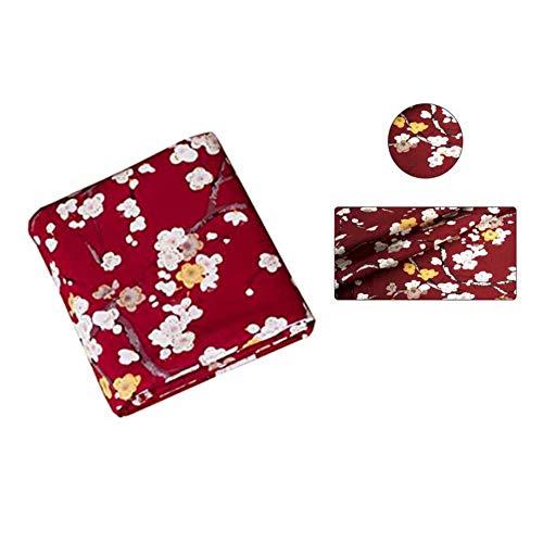 Maya Star - Tela de algodón con estampado de bronceado, estilo japonés, hecha a mano, estilo japonés, bolsa de regalo, Kimono/fundas de almohada A09
