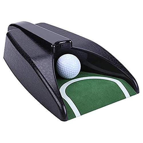 Golfing - Máquina de retorno de golf automática para entrenamiento de golf, con agujero giratorio para la práctica del...
