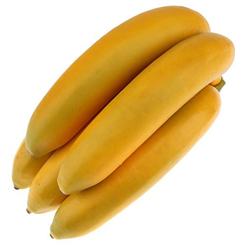 Gresorth 1 Pack Künstliche Lebensechte Banane Deko Gefälschte Früchte Obst Party Festival Dekoration