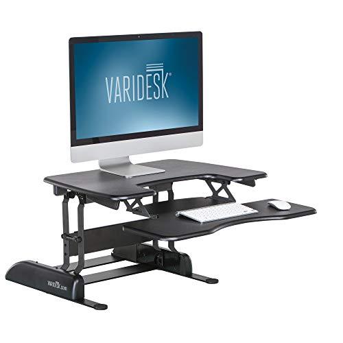 Unbekannt Halter ED-600 vormontierte H/öhe Verstellbarer Schreibtisch sitzend//Standh/öhe Desktop Kirsche