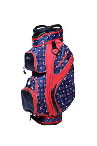 Glove It Women's Golf Bag, Lightweight Golf Cart Bag for Ladies with 14 Golf Club Holders, Putter Well & 9 Easy-Access Pockets, Starz