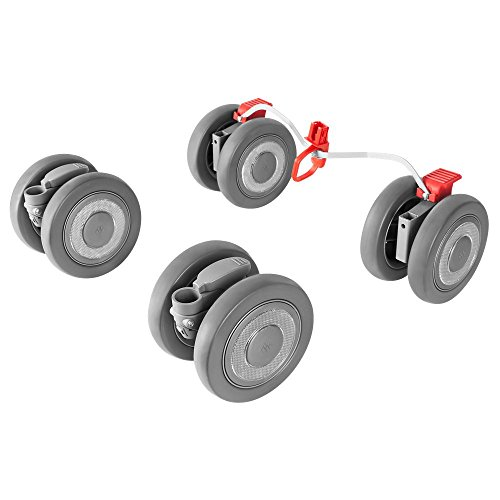 Maclaren ruedas delanteras y traseras Techno XLR se adapta de forma segura a los buggies Techno XLR para cubrir aún más millas, plata