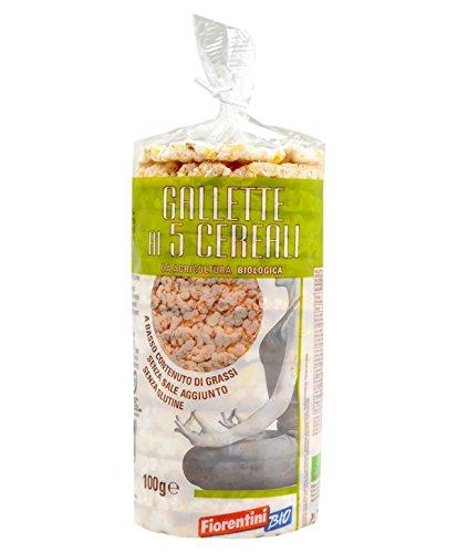 Gallette ai 5 Cereali Bio Fiorentini Alimentari gr.100