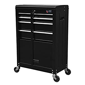 "TB3204X-BK Excel 22"" Roller Tool Cabinet with 4 Ball Bearing Drawers, 22in, Black"