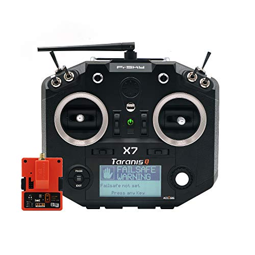 FrSky Taranis Q X7 Access 2.4GHz 24CH Mode2 Transmitter with R9M 2019 Long Range Module - Black