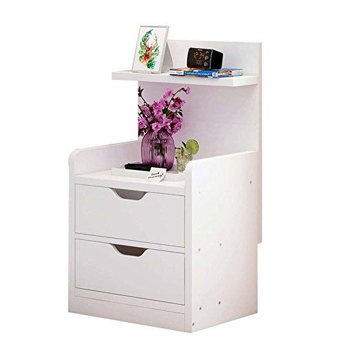 Table de chevet JCOCO Panneau à Base de Bois de avec Le Stockage de tiroir, de boîte de Rangement de casier de Chambre à Coucher (Couleur : #3, Taille : 33 * 27 * 60cm)