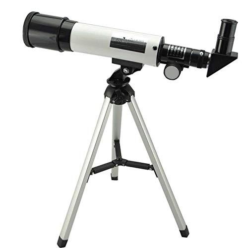 YANODA Outdoor Telescopio astronómico refracción 360X50 con el Cielo trípode portátil monocular Telescopio Espacial Observación Ámbito Regalo Sightseeing (Color : 1)