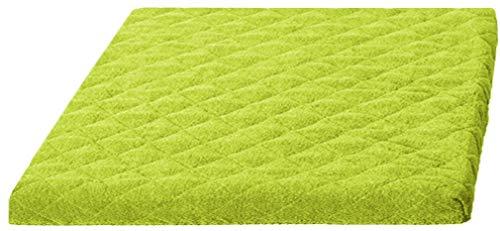 Bestlivings Waschmaschinenbezug (Grün) 60x60cm, Trocknerbezug in vielen vers. Farben