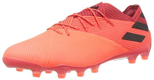 adidas Nemeziz 19.1 AG, Zapatillas de fútbol Hombre, CORSEN/NEGBÁS/ROJGLO, 44 EU