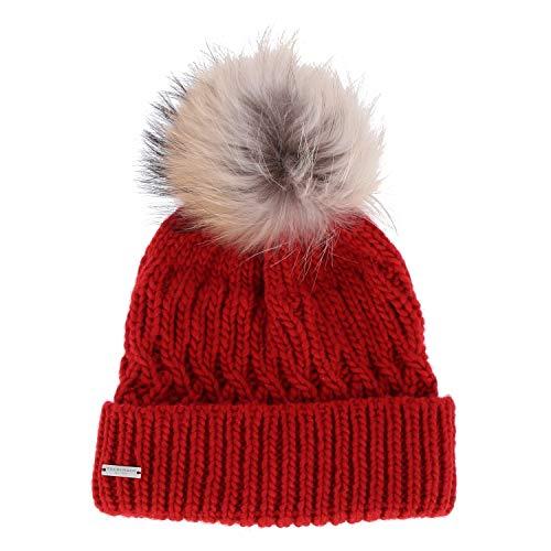 Seeberger Mütze - Beanie Größe One Size Rot (Rot)