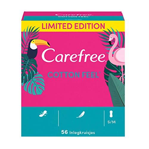 CAREFREE Cotton Feel Slipeinlagen 56 Stück
