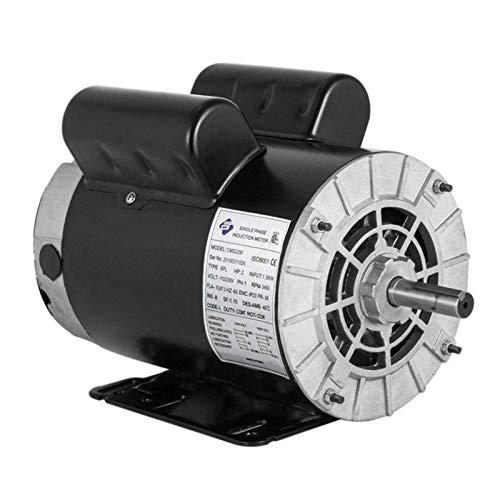 2 HP SPL 3450RPM Single Phase Electric Air Compressor Motor, 56 Frame 5/8