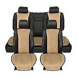Funda Asiento Coche Cojín de asiento de coche gris universal Protector Interior automotriz Ajuste para la mayoría de los automóviles Cubierta de asiento de automóvil de la temporada de la temporada de