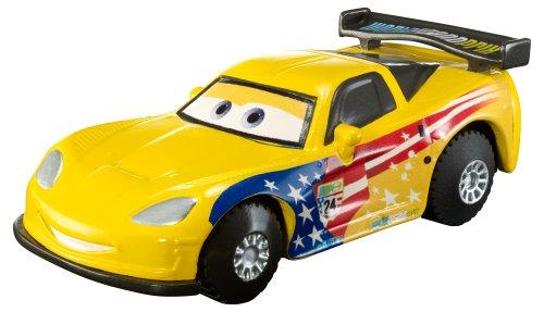 Cars - Y1303 - Véhicule Miniature - Jeff Gorvette All Star